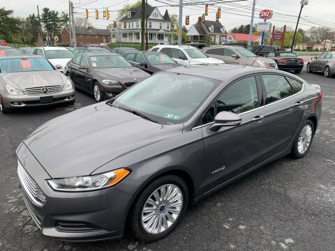 2013 Ford Fusion Hybrid for sale at Masic Motors, Inc. in Harrisburg PA