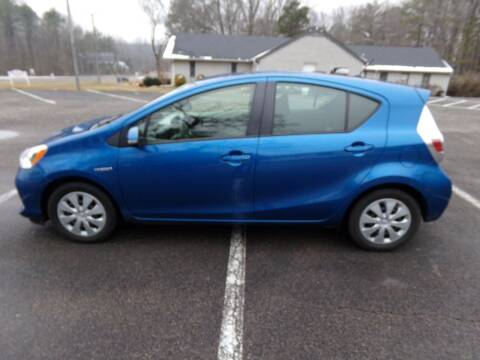 2012 Toyota Prius c for sale at West End Auto Sales LLC in Richmond VA