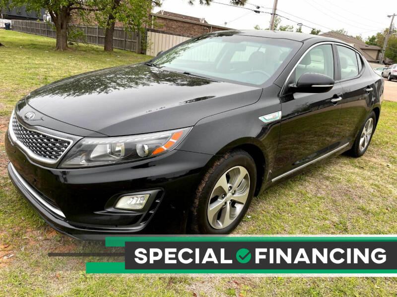 2015 Kia Optima Hybrid for sale at Automay Car Sales in Oklahoma City OK