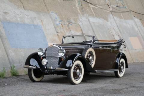 1937 Mercedes-Benz 230B Cabriolet for sale at Gullwing Motor Cars Inc in Astoria NY