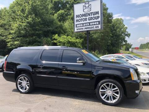 2012 Cadillac Escalade ESV for sale at Momentum Motor Group in Lancaster SC