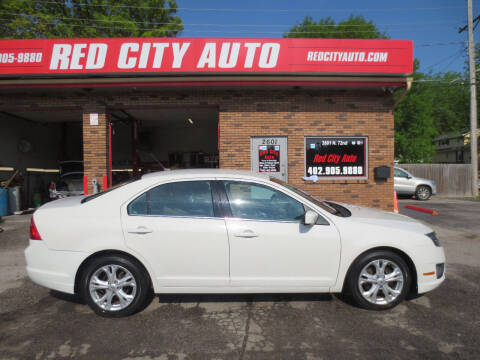 2012 Ford Fusion for sale at Red City  Auto in Omaha NE
