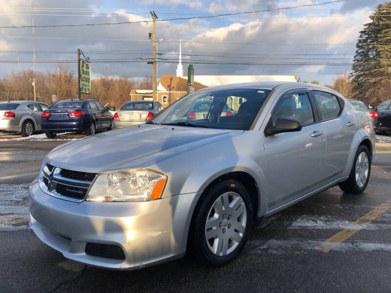 2011 Dodge Avenger for sale at J's Auto Exchange in Derry NH