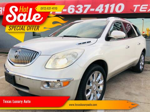 2012 Buick Enclave for sale at Texas Luxury Auto in Cedar Hill TX