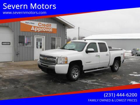 2011 Chevrolet Silverado 1500 for sale at Severn Motors in Cadillac MI