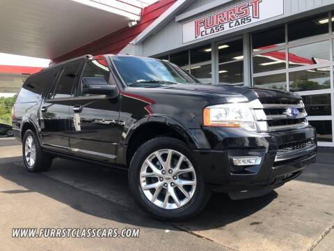 2017 Ford Expedition EL for sale at Furrst Class Cars LLC in Charlotte NC