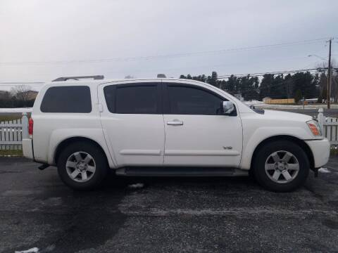 2005 Nissan Armada for sale at Alex Bay Rental Car and Truck Sales in Alexandria Bay NY