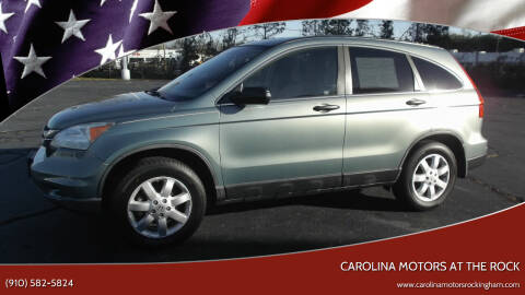 2011 Honda CR-V for sale at Carolina Motors at the Rock in Rockingham NC