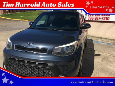 2014 Kia Soul for sale at Tim Harrold Auto Sales in Wilkesboro NC