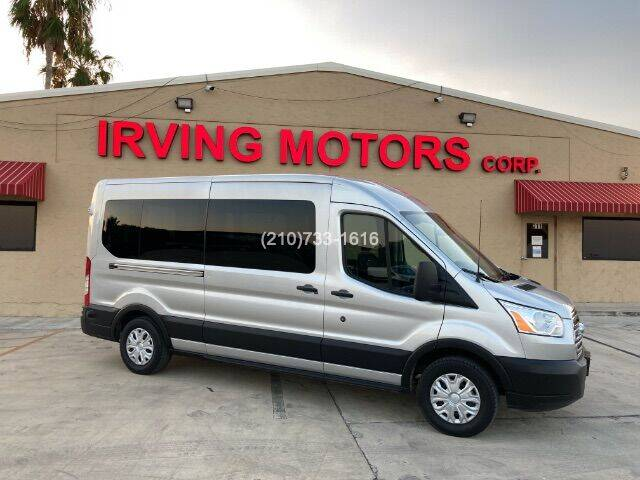 2019 Ford Transit Passenger for sale at Irving Motors Corp in San Antonio TX