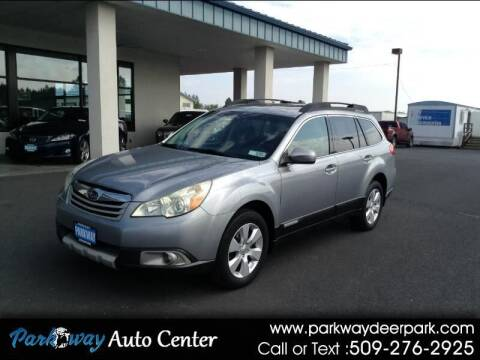 2010 Subaru Outback for sale at PARKWAY AUTO CENTER AND RV in Deer Park WA