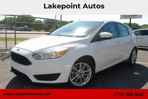 2017 Ford Focus for sale at Lakepoint Autos in Cartersville GA