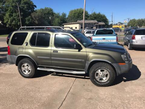 2003 Nissan Xterra for sale at Hall's Motor Co. LLC in Wichita KS