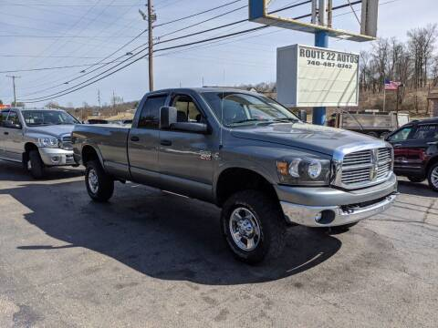 2008 Dodge Ram Pickup 2500 for sale at Route 22 Autos in Zanesville OH