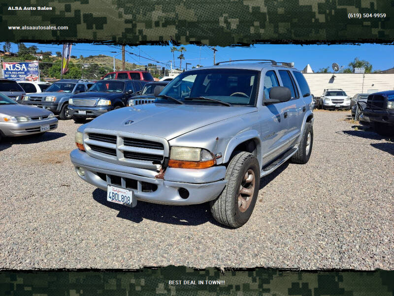 1998 Dodge Durango for sale in El Cajon, CA