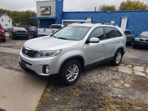 2015 Kia Sorento for sale at M & C Auto Sales in Toledo OH