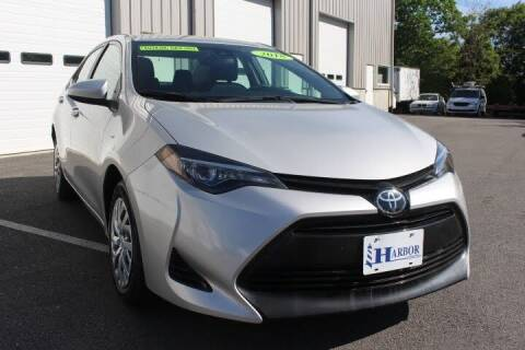 2018 Toyota Corolla for sale at Harbor Auto Sales in Hyannis MA