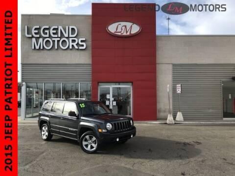 2015 Jeep Patriot for sale at Legend Motors of Detroit - Legend Motors of Ferndale in Ferndale MI