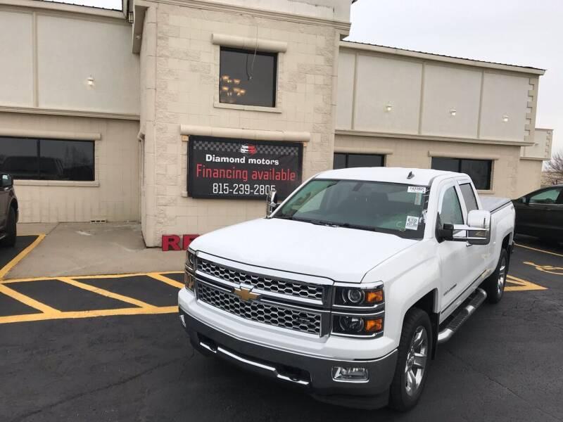 2014 Chevrolet Silverado 1500 for sale at Diamond Motors in Pecatonica IL