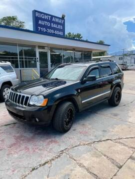 2009 Jeep Grand Cherokee for sale at Right Away Auto Sales in Colorado Springs CO