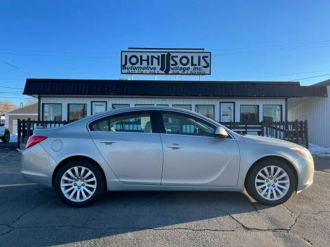 2011 Buick Regal for sale at John Solis Automotive Village in Idaho Falls ID