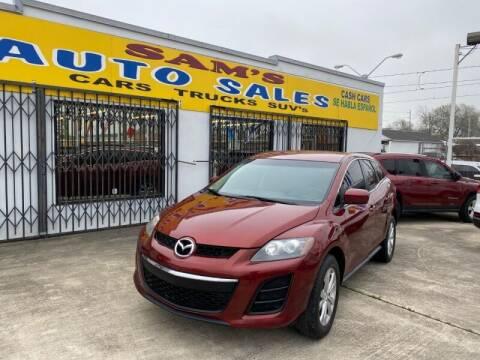 2011 Mazda CX-7 for sale at Sam's Auto Sales in Houston TX
