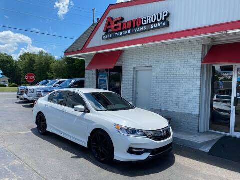 2016 Honda Accord for sale at AG AUTOGROUP in Vineland NJ