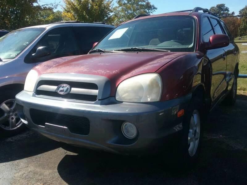 2005 Hyundai Santa Fe for sale at Dave-O Motor Co. in Haltom City TX