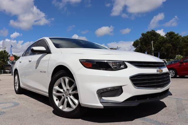 2017 Chevrolet Malibu for sale at OCEAN AUTO SALES in Miami FL
