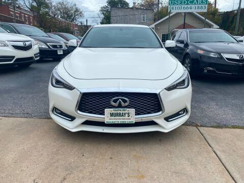 2017 Infiniti Q60 for sale at Murrays Used Cars in Baltimore MD