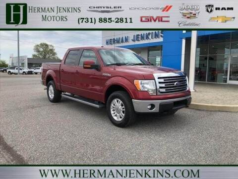 2014 Ford F-150 for sale at Herman Jenkins Used Cars in Union City TN