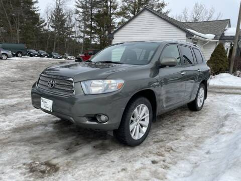 2009 Toyota Highlander Hybrid for sale at Williston Economy Motors in Williston VT