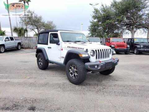 2018 Jeep Wrangler for sale at GATOR'S IMPORT SUPERSTORE in Melbourne FL