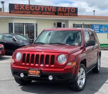 2014 Jeep Patriot for sale at Executive Auto in Winchester VA