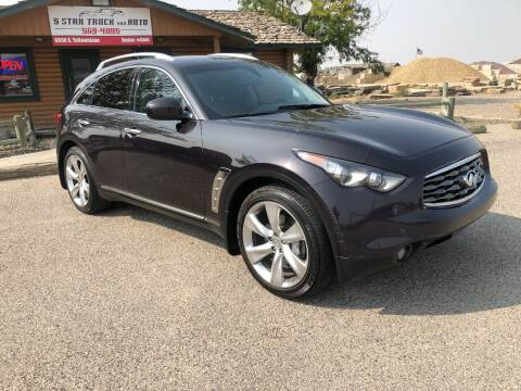 2009 Infiniti FX50 for sale at 5 Star Truck and Auto in Idaho Falls ID