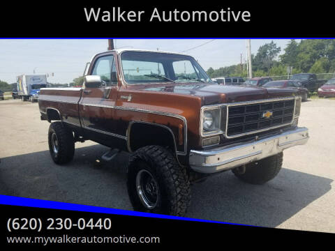 1978 Chevrolet C/K 10 Series for sale at Walker Automotive in Frontenac KS