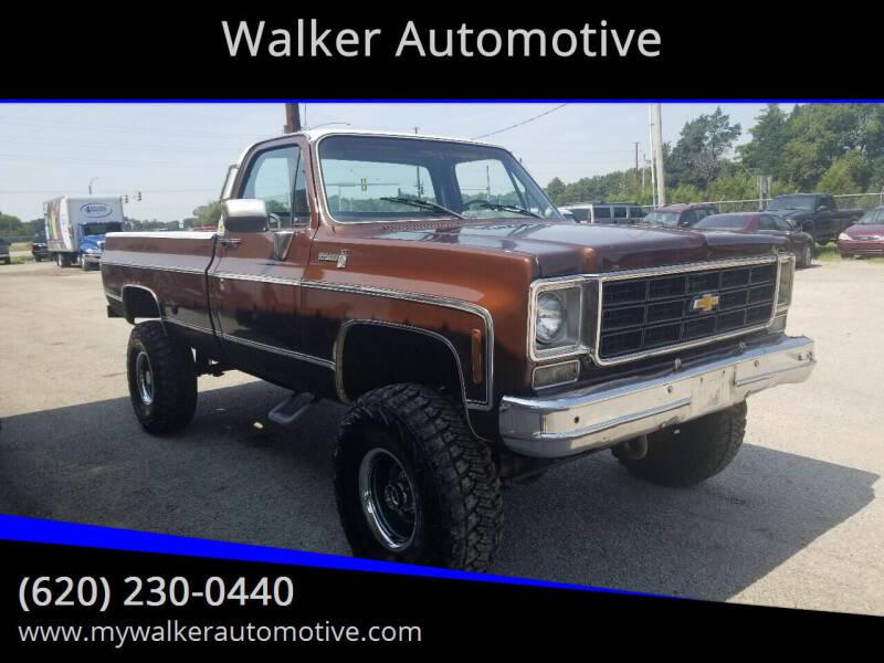 1978 Chevrolet C/K 10 Series for sale at Walker Automotive in Frontenac KS