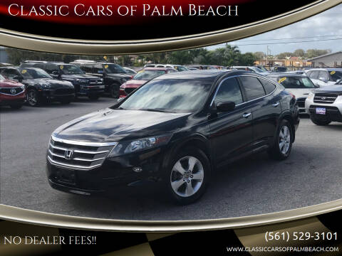 2012 Honda Crosstour for sale at Classic Cars of Palm Beach in Jupiter FL