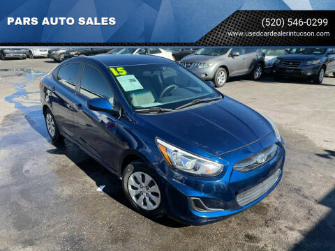 2015 Hyundai Accent for sale at PARS AUTO SALES in Tucson AZ