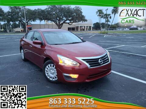2013 Nissan Altima for sale at Exxact Cars in Lakeland FL