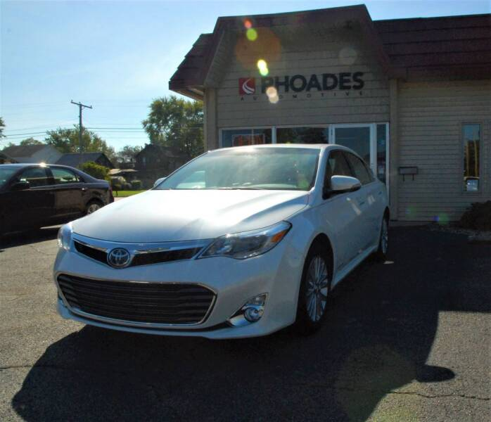 2015 Toyota Avalon Hybrid for sale at Rhoades Automotive Inc. in Columbia City IN