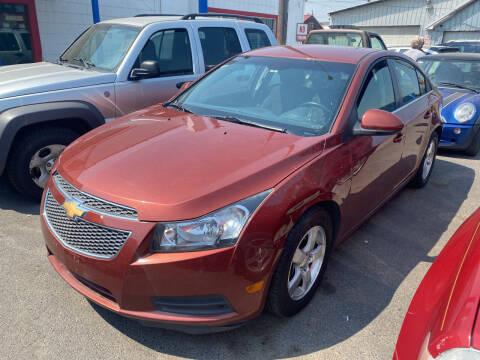 2012 Chevrolet Cruze for sale at Cliff's Qualty Auto Sales in Spokane WA