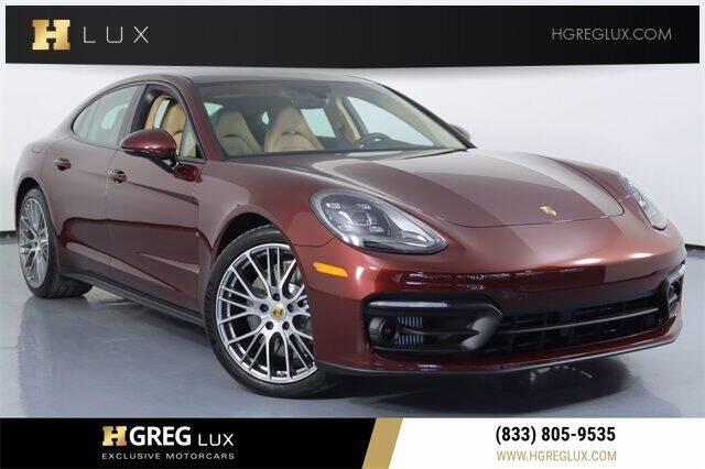 2021 Porsche Panamera for sale at HGREG LUX EXCLUSIVE MOTORCARS in Pompano Beach FL