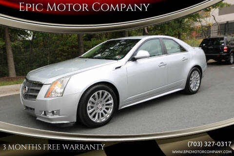 2011 Cadillac CTS for sale at Epic Motor Company in Chantilly VA