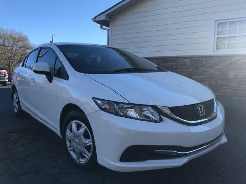2013 Honda Civic for sale at No Full Coverage Auto Sales in Austell GA
