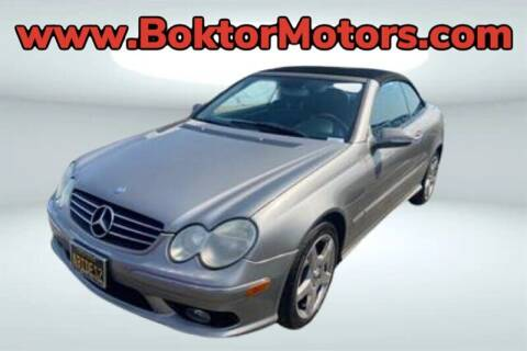 2005 Mercedes-Benz CLK for sale at Boktor Motors in North Hollywood CA