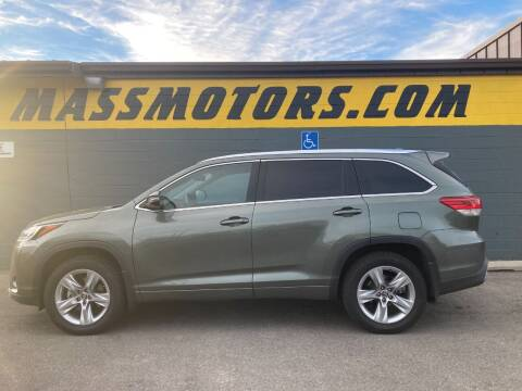 2017 Toyota Highlander for sale at M.A.S.S. Motors - Fairview in Boise ID