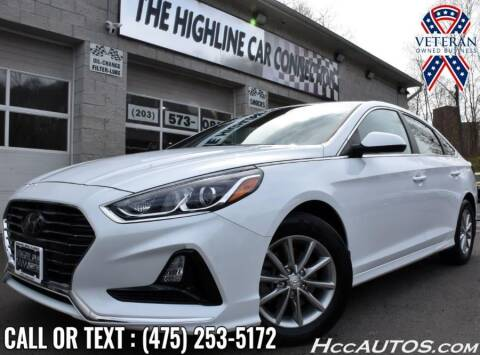 2019 Hyundai Sonata for sale at The Highline Car Connection in Waterbury CT