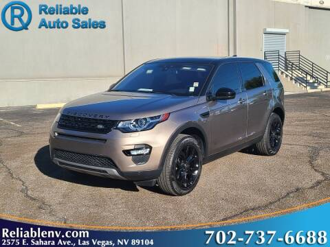 2017 Land Rover Discovery Sport for sale at Reliable Auto Sales in Las Vegas NV