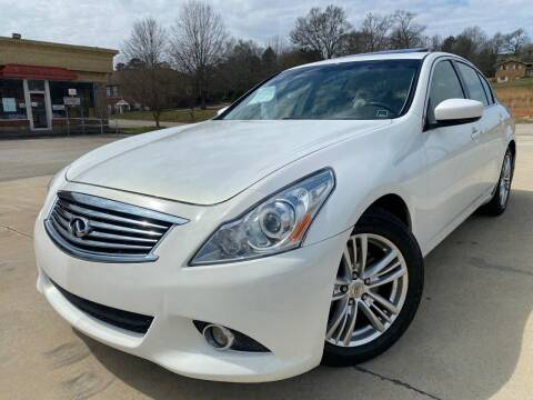 2011 Infiniti G37 Sedan for sale at Gwinnett Luxury Motors in Buford GA